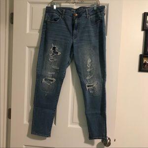 Size 18 reg skinny jeans